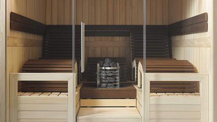 Saunas finlandesas de cabina Helo Mxico