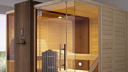 Cabina Sauna Vapor : Saunas finlandesas de cabina helo méxico